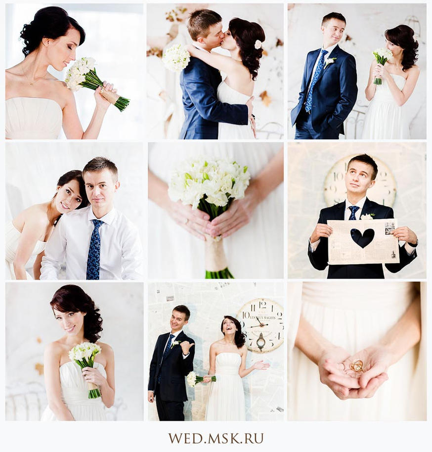 wedding collage by Aleksie on DeviantArt