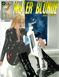 Killer Blonde - Issue 1 - Cover Art (2004) by battlestrength