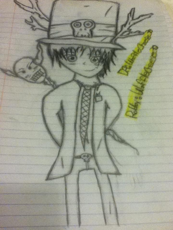 Art Portrait for WaffleCheese30 by Kickyobutt11
