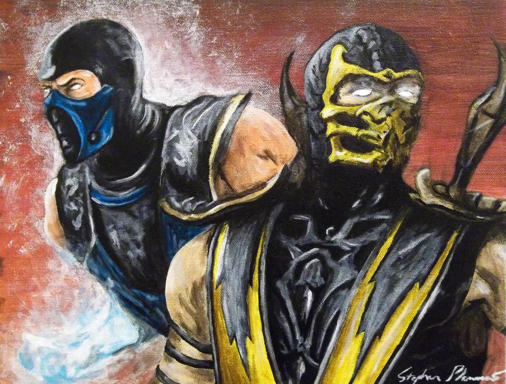 Scorpion / Sub-Zero (Mortal Kombat) by Murderdoll-197666 ...