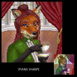 Vivian Sharpe by Riverthorne