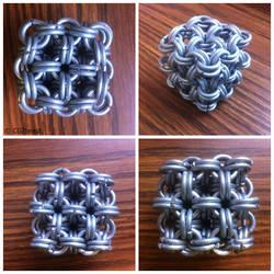 11g SWG Japanese 8 in 2 Cube Galvanized Ste