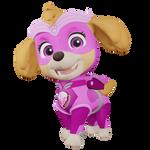Might pups/Blender Render: Might Skye