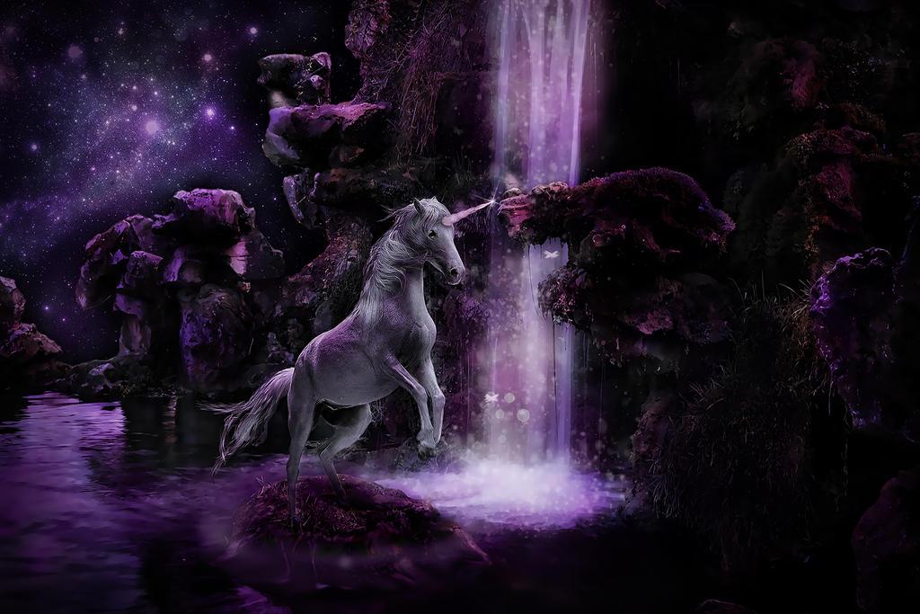 Where Unicorns are born by VelvetBlueEyes