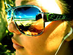 sunglasses by gypsysketch