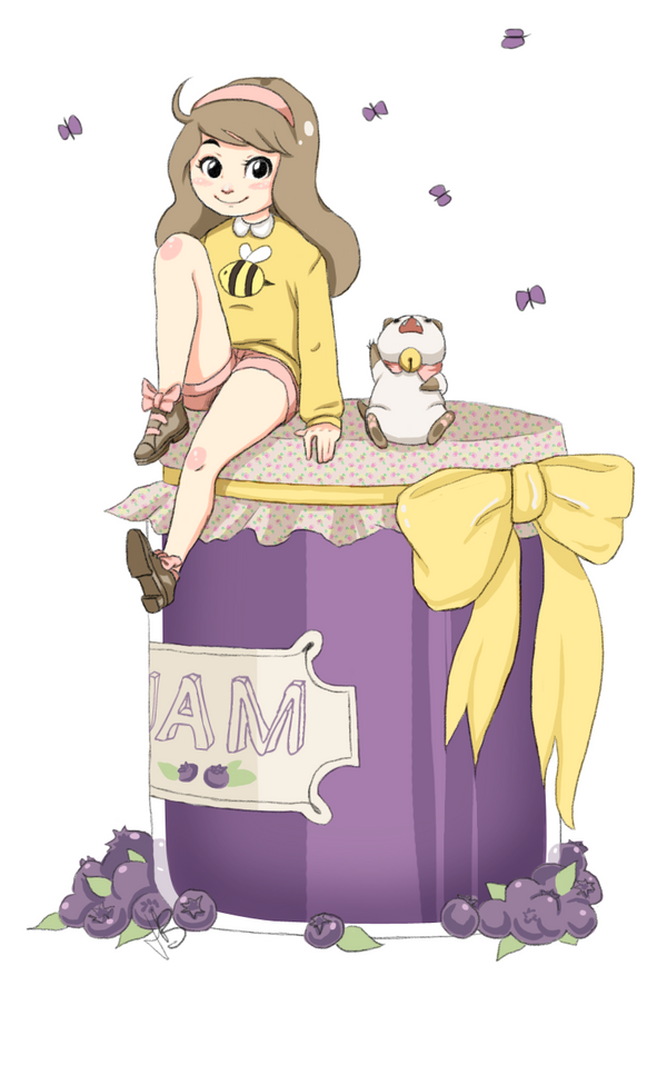 Bee and Puppycat by KnockMeOut