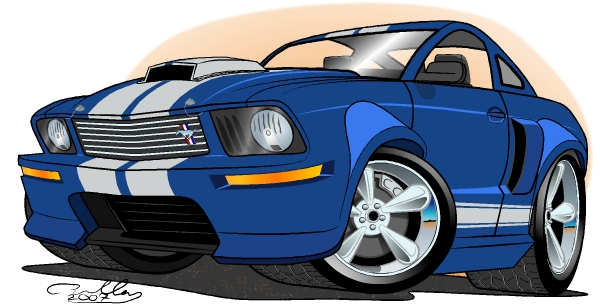 Blue 08 SGT Coupe by DarkBlip