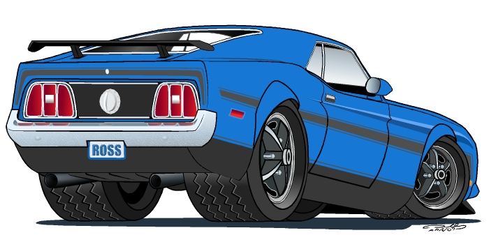 71 Mustang Fastback by DarkBlip