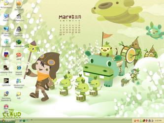 March 2008 Desktop Calendar