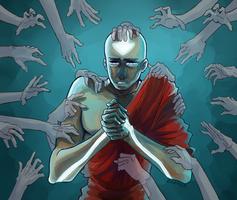 Avatar's responsibility: Aang by Zhemka