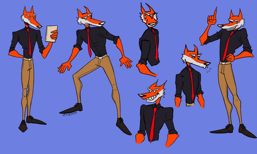 Original Character by Zhemka