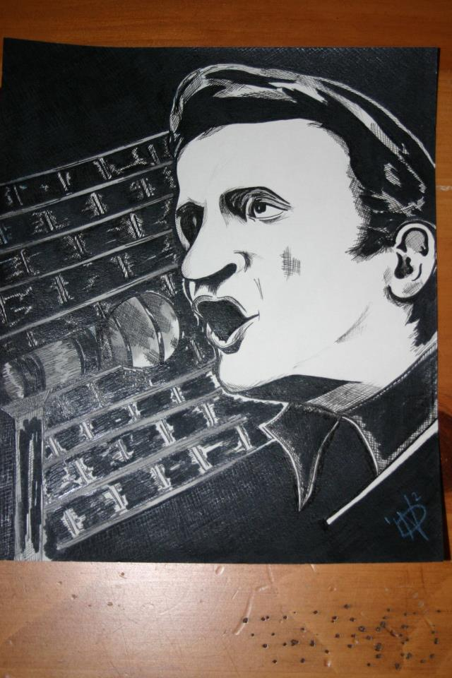 Johnny Cash by nicolerenaedallaire