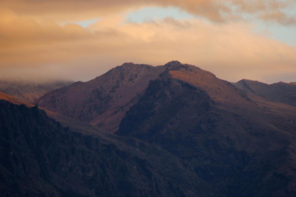 Sunset Mountains by Chunga-Stock