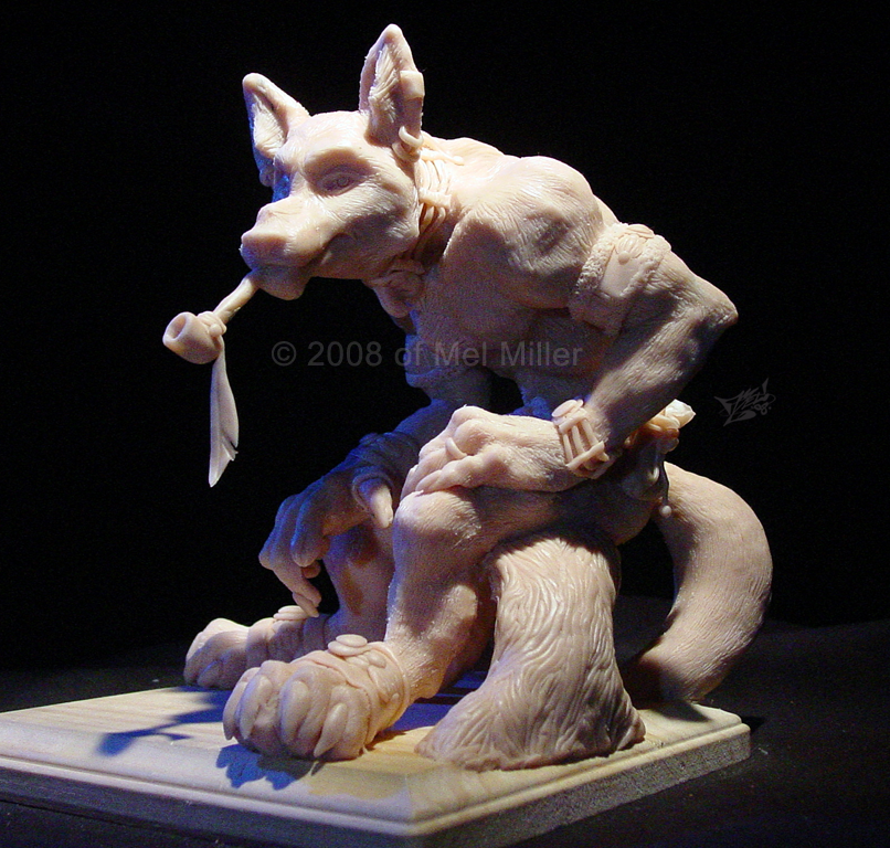 Drako Maquette by Javadoodle