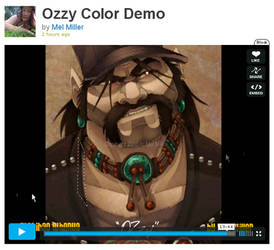 OZzy Color Demo Video by Javadoodle