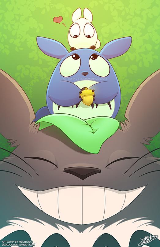 Totoro BrOTP by Javadoodle