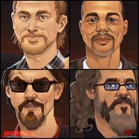PALS Portraits by Javadoodle