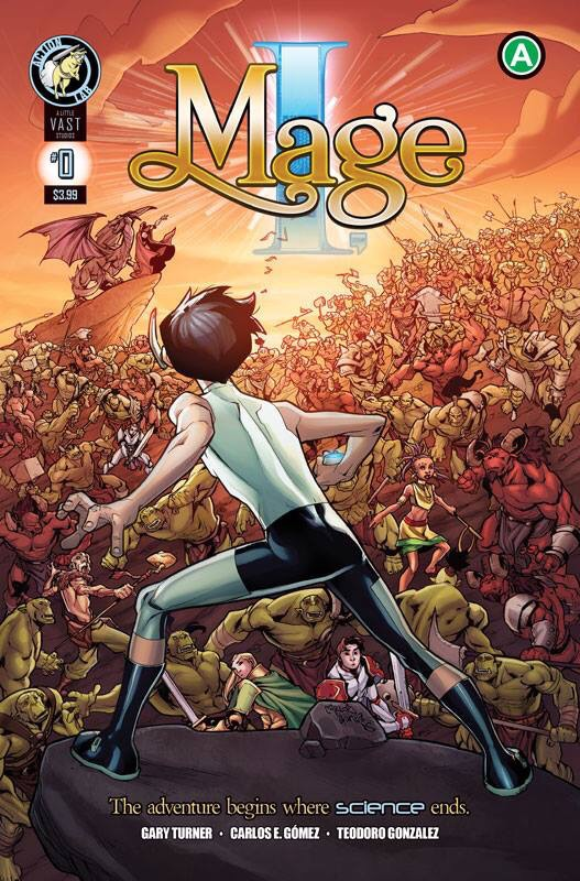 I,Mage Issue 0 on Comixology! by Javadoodle