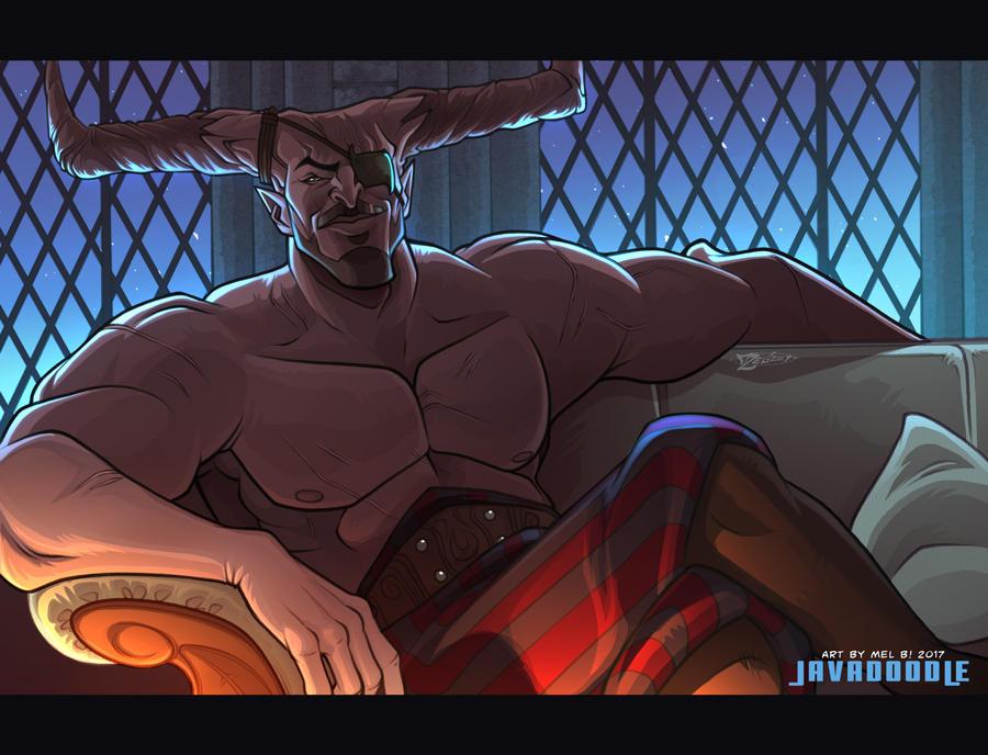 DA:I Tough Love (The Iron Bull)