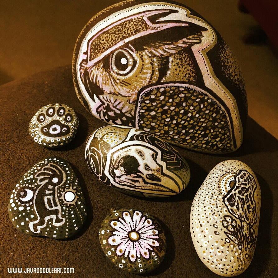 Javadoodle Totem Stones Vol 1 by Javadoodle