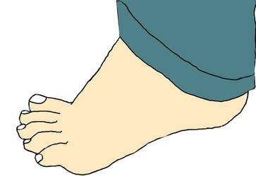 Scott Malkinson's Foot by guitarheroexpert2015