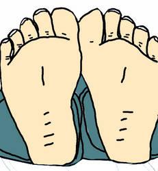 Scott Malkinson's Feet And Toes