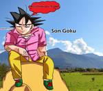 Son Goku Badman Shirt