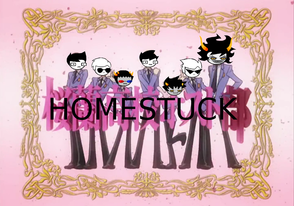 Ouran Highschool Homestuck by Wings101