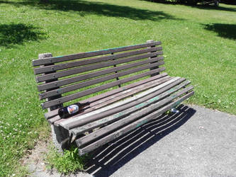 Bench Park STOCK