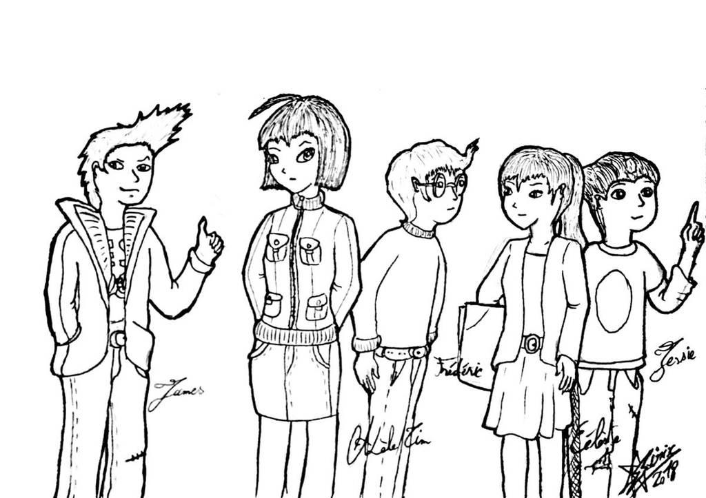 Replika on the Web, cast. (Code Lyoko OCs) by Sirix1995