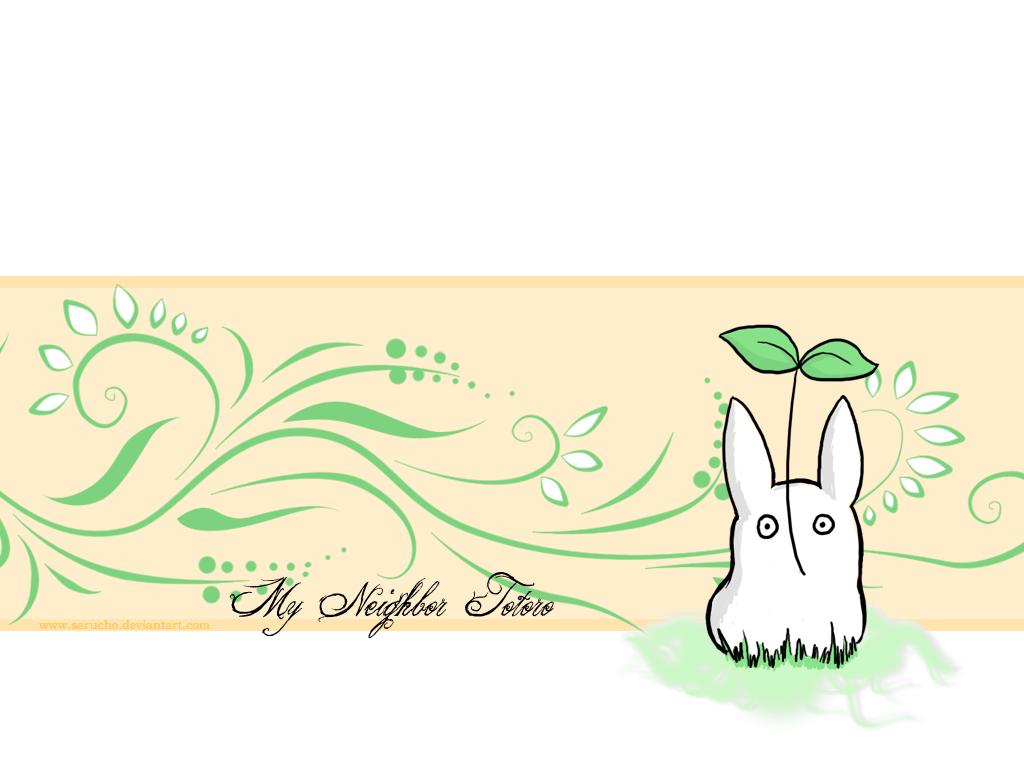 Wallpaper My Neighbor Totoro By Sarucho