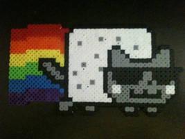 Smooth Jazz Nyan Cat by Birdseednerd