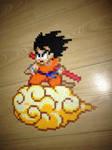 Son Goku on Nimbus perler