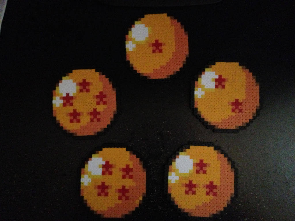 Dragon Ball perlers by Birdseednerd
