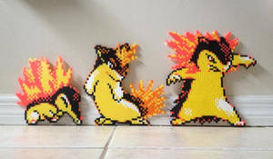 Cyndaquil evolutions complete