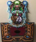 Agahnim taking Zelda perler