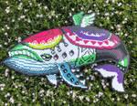 Windfish perler by Birdseednerd