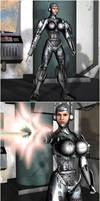 Robotization woman weapon by Zerozero91
