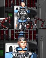She Wants to Become a Machine 11/21 by Zerozero91
