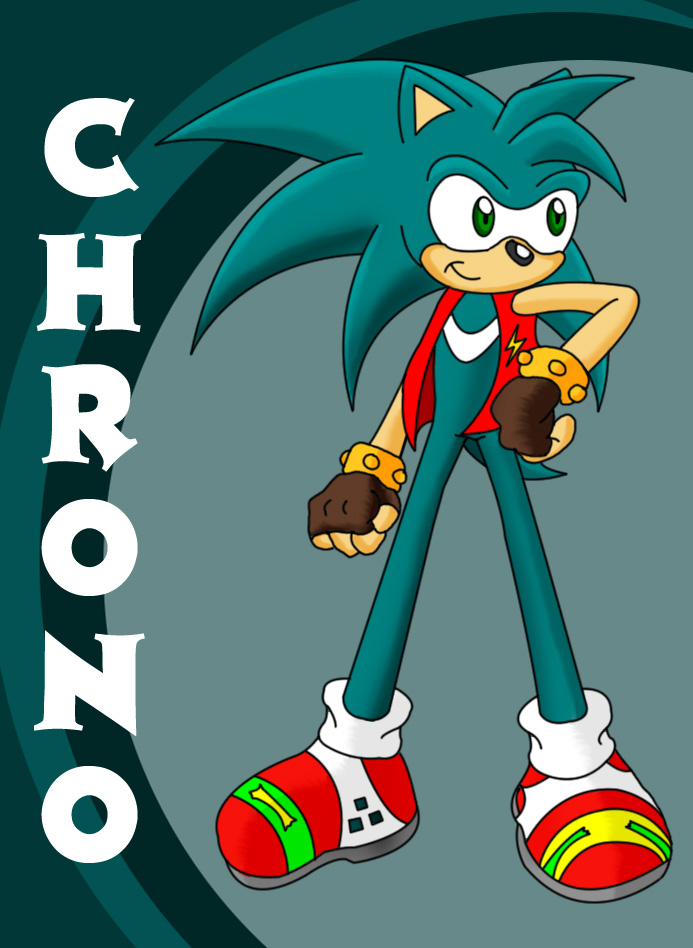 Request: Chrono the Hedgehog by Cacti