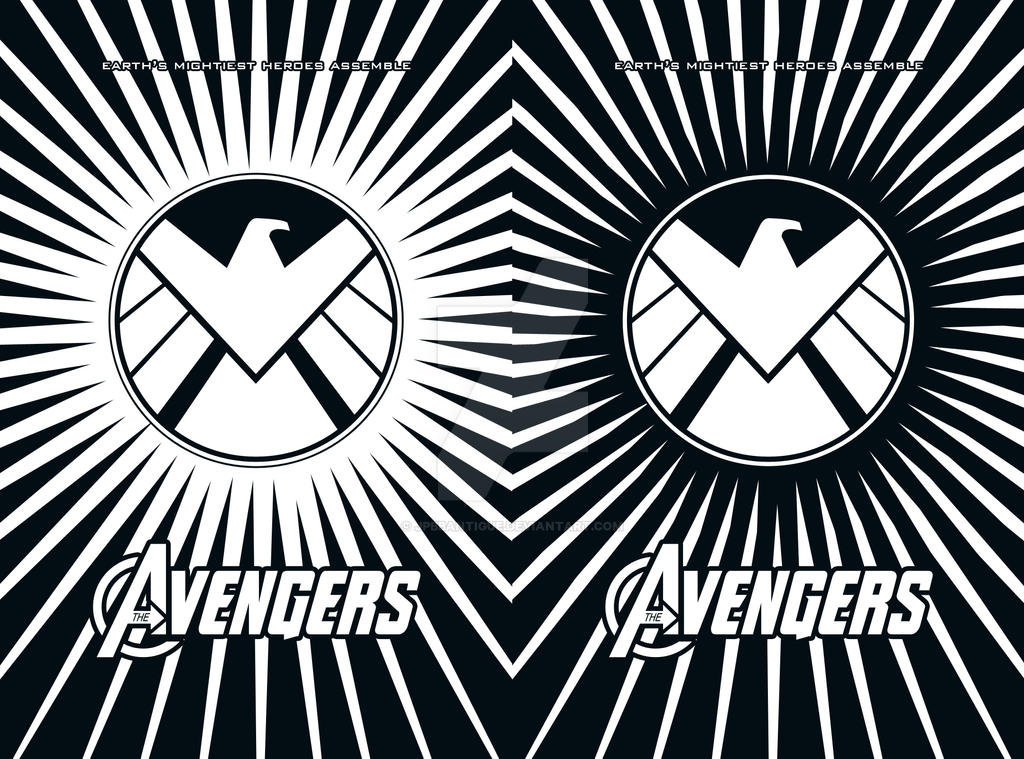 The Avengers, Vector Versions by jpbbantigue on DeviantArt