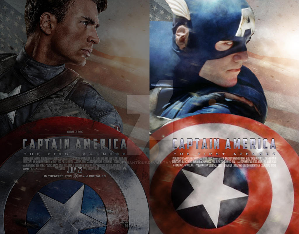 Remake-Remake: Capt. America by jpbbantigue