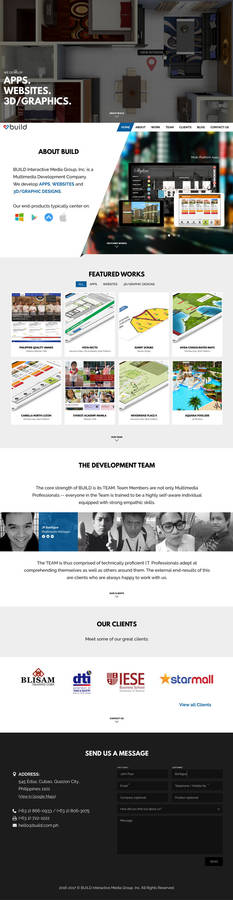 BUILD Website Redesign, Circa 2016+