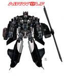 airwolf as a transformer
