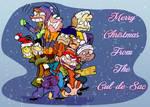 Ed Edd n' Eddy Cul-De-Sac Christmas Card