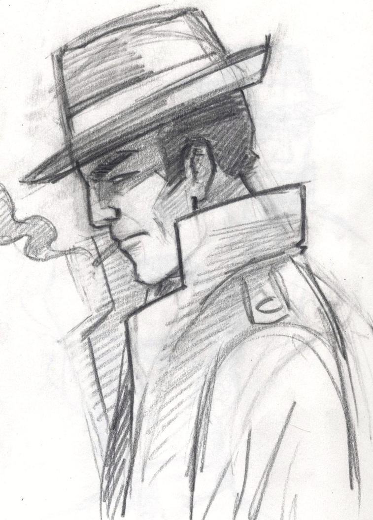 detective sketch by robwake