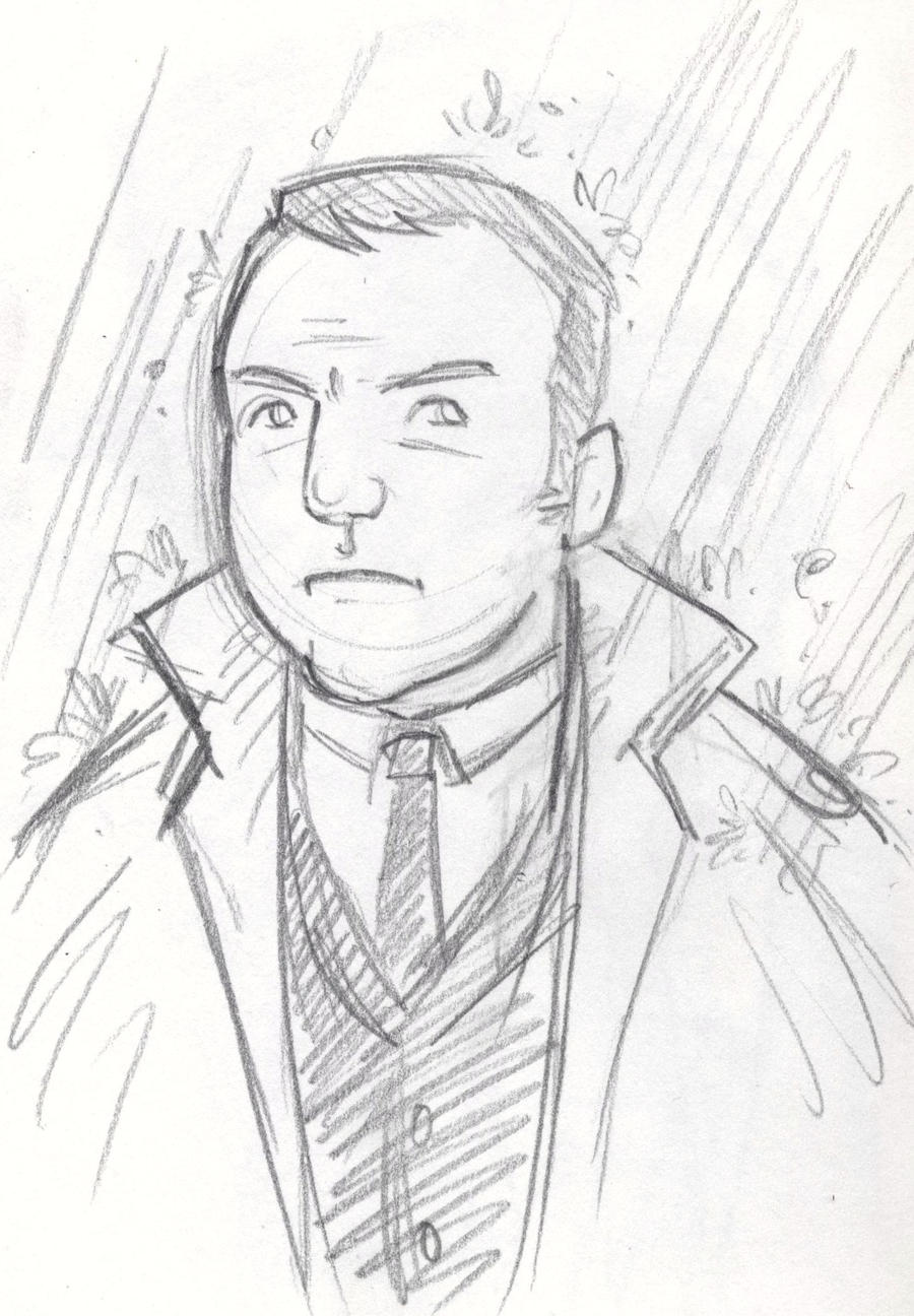 Detective sketch by robwake on deviantart for Sketch it online