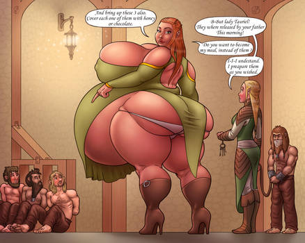 Tauriel and the dwarves p2