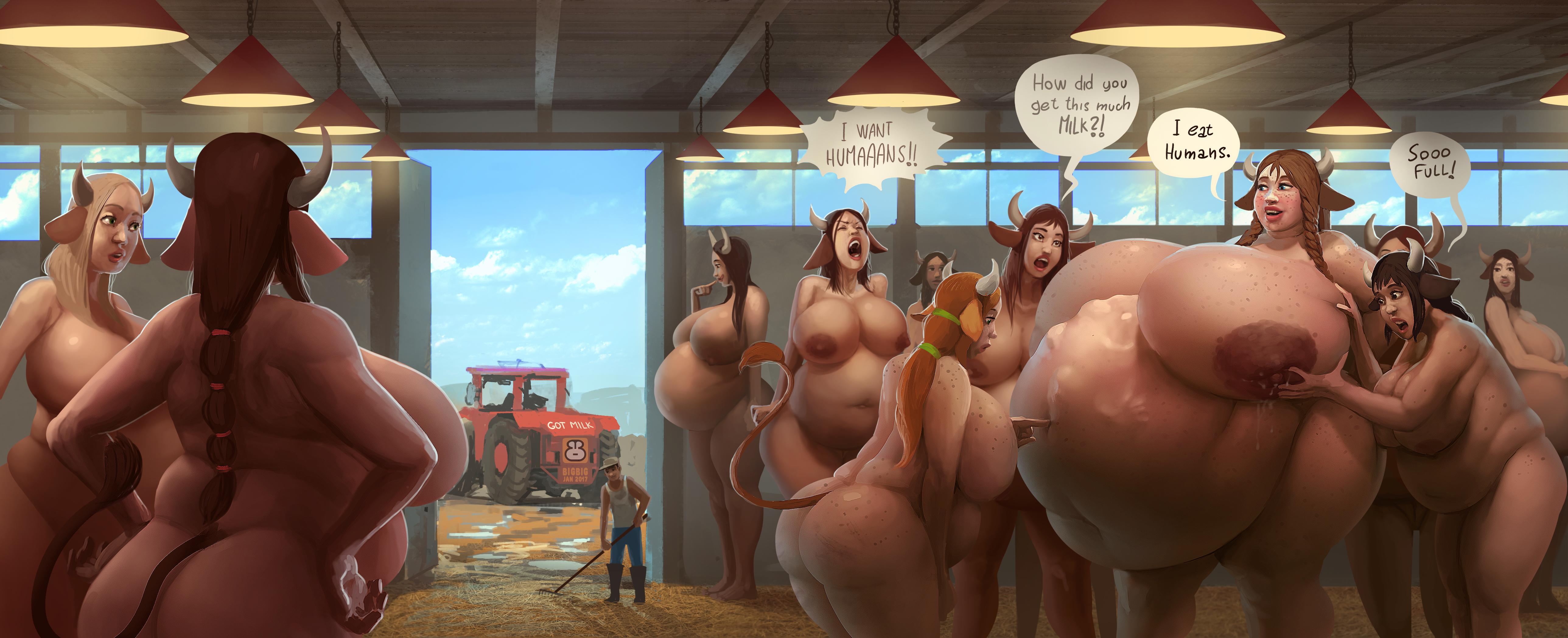 Big boobs ebony milking i want a cow like her dh 10
