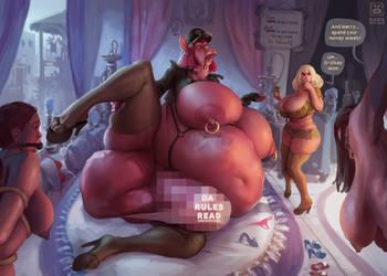 !FUTA! Eating girls by BIGBIG-on-DA